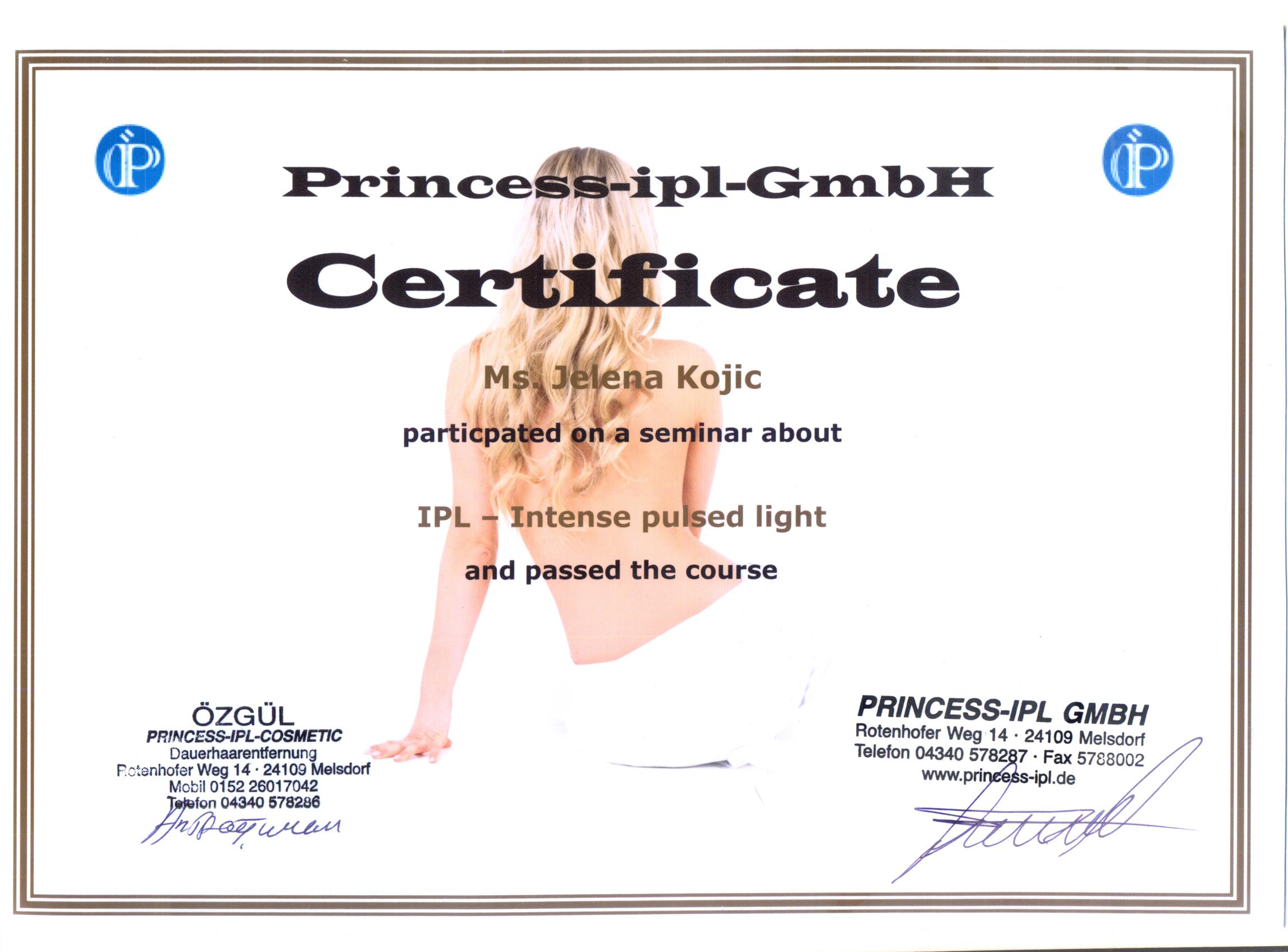 sertifikat jelena face
